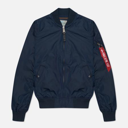 Женская куртка бомбер Alpha Industries MA-1 TT Replica Blue