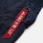 Женская куртка бомбер Alpha Industries MA-1 TT Replica Blue фото- 2
