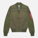 Женская куртка бомбер Alpha Industries MA-1 TT Sage Green фото- 0