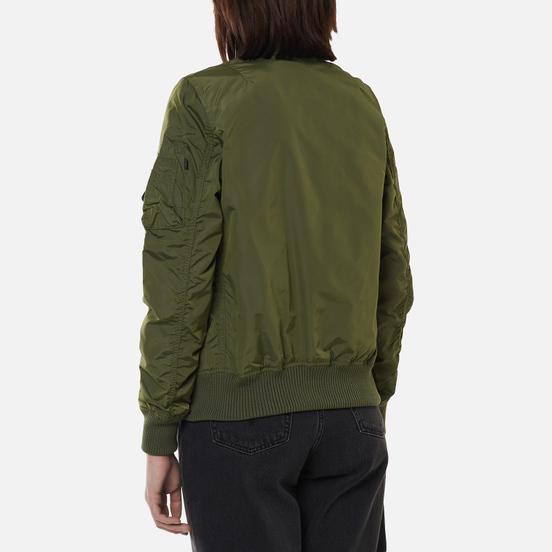 Женская куртка бомбер Alpha Industries MA-1 TT Sage Green