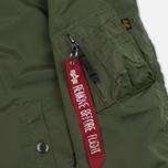Женская куртка бомбер Alpha Industries MA-1 TT Sage Green фото- 6