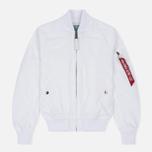 Женская куртка бомбер Alpha Industries MA-1 TT White фото- 0