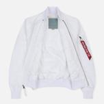 Женская куртка бомбер Alpha Industries MA-1 TT White фото- 3
