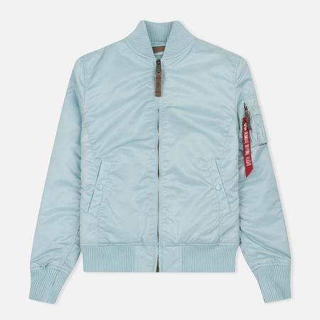 Женская куртка бомбер Alpha Industries MA-1 VF 59 Air Blue