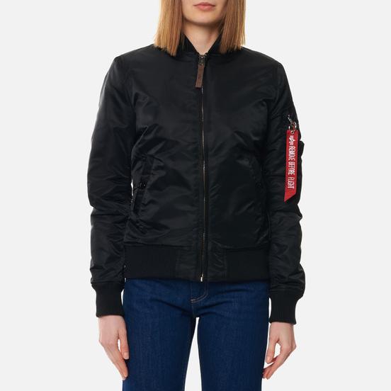 Женская куртка бомбер Alpha Industries MA-1 VF 59 Black