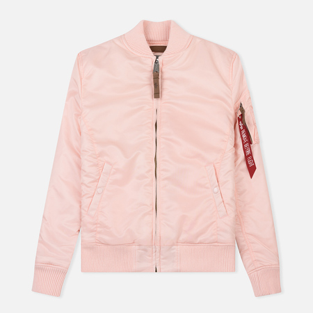 Женская куртка бомбер Alpha Industries MA-1 VF 59 Light Pink