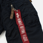 Женская куртка бомбер Alpha Industries MA-1 VF 59 Replica Blue фото- 5