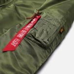Женская куртка бомбер Alpha Industries MA-1 VF 59 Sage Green фото- 2