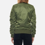 Женская куртка бомбер Alpha Industries MA-1 VF 59 Sage Green фото- 4