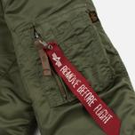 Женская куртка бомбер Alpha Industries MA-1 VF 59 Sage Green фото- 5