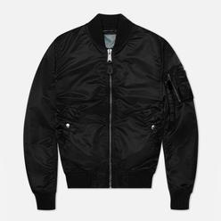 Женская куртка бомбер Alpha Industries MA-1 VF LW Black/Chrome
