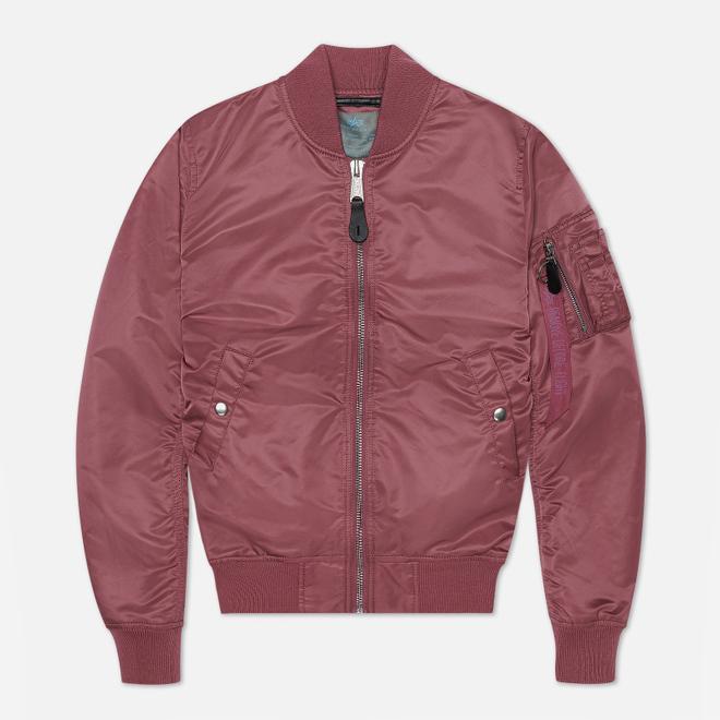 Женская куртка бомбер Alpha Industries MA-1 VF LW Dusty Pink