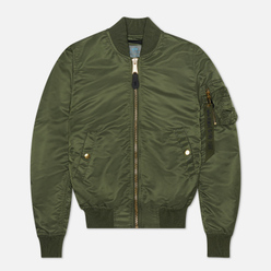 Женская куртка бомбер Alpha Industries MA-1 VF LW Sage Green/Gold