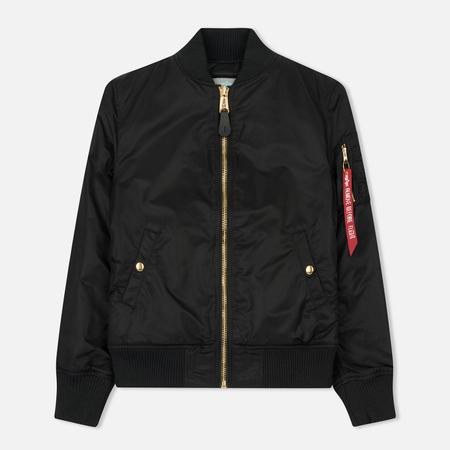 Женская куртка бомбер Alpha Industries MA-1 VF PM Black