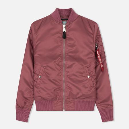 Женская куртка бомбер Alpha Industries MA-1 VF PM Dusty Pink