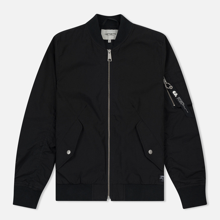 Женская куртка бомбер Carhartt WIP W' Dab 4 Oz Black