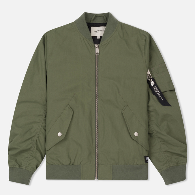 Женская куртка бомбер Carhartt WIP W' Dab 4 Oz Dollar Green
