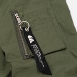 Женская куртка бомбер Carhartt WIP W' Dab 4 Oz Dollar Green фото- 5