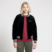 Женская куртка бомбер Champion Reverse Weave Velour Quilted Black фото- 7