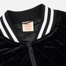 Женская куртка бомбер Champion Reverse Weave Velour Quilted Black фото- 1