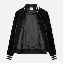 Женская куртка бомбер Champion Reverse Weave Velour Quilted Black фото- 3