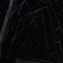 Женская куртка бомбер Champion Reverse Weave Velour Quilted Black фото- 4