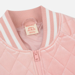 Женская куртка бомбер Champion Reverse Weave Velour Quilted Pink фото- 1