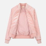 Женская куртка бомбер Champion Reverse Weave Velour Quilted Pink фото- 3