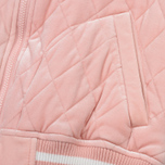 Женская куртка бомбер Champion Reverse Weave Velour Quilted Pink фото- 4