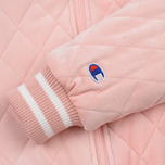 Женская куртка бомбер Champion Reverse Weave Velour Quilted Pink фото- 5