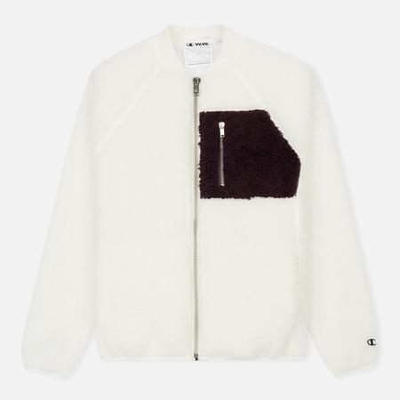 Женская куртка бомбер Champion Reverse Weave x Wood Wood Suze Off White