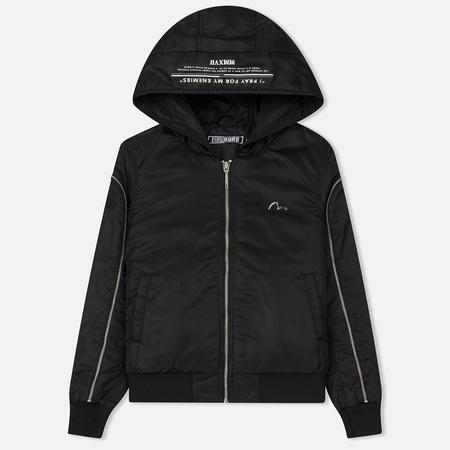 Женская куртка бомбер Evisu Evisukuro MA-1 Padded Black