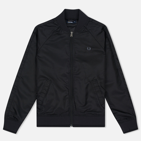 Женская куртка бомбер Fred Perry High Shine Lightweight Black