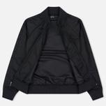 Женская куртка бомбер Fred Perry High Shine Lightweight Black фото- 2