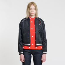 Женская куртка бомбер Fred Perry x Amy Winehouse Embroidered 50's Black фото- 1