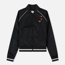 Женская куртка бомбер Fred Perry x Amy Winehouse Embroidered 50's Black фото- 0
