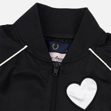 Женская куртка бомбер Fred Perry x Amy Winehouse Heart Black фото- 3