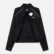 Женская куртка бомбер Fred Perry x Amy Winehouse Heart Black фото- 1