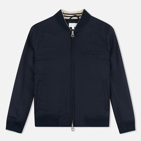 Gant Rugger Hopsack Women's Bomber Evening Blue