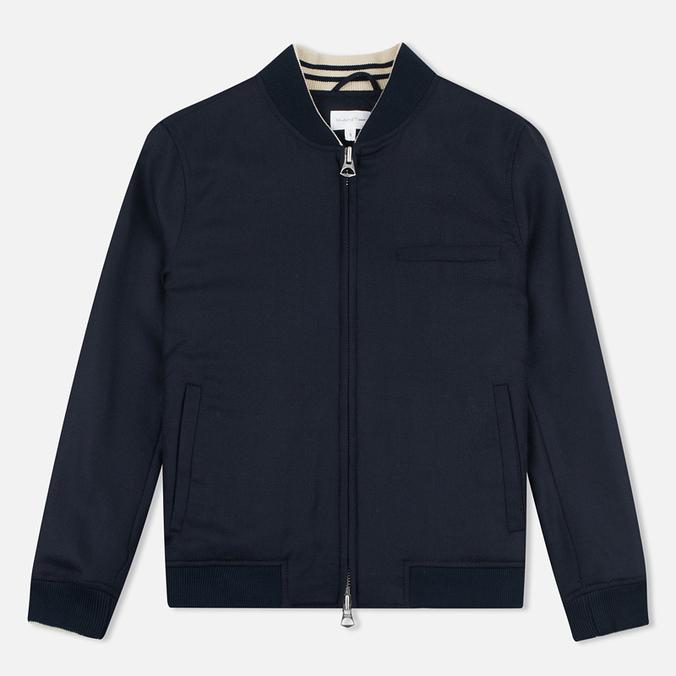 Женская куртка бомбер Gant Rugger Hopsack Evening Blue