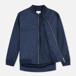 Женская куртка бомбер Gant Rugger Pinstriped Thunder Blue фото- 1