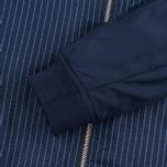Женская куртка бомбер Gant Rugger Pinstriped Thunder Blue фото- 5