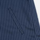 Женская куртка бомбер Gant Rugger Pinstriped Thunder Blue фото- 4