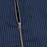 Женская куртка бомбер Gant Rugger Pinstriped Thunder Blue фото- 3