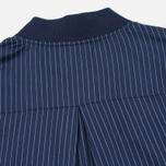 Женская куртка бомбер Gant Rugger Pinstriped Thunder Blue фото- 6