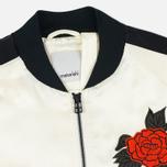 Женская куртка бомбер Maharishi Hanafuda Silk Satin Ecru/Black фото- 2