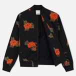 Женская куртка бомбер Maharishi Rozy Embroidery Twill Black фото- 1