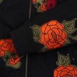 Женская куртка бомбер Maharishi Rozy Embroidery Twill Black фото- 6