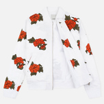 Maharishi Rozy Embroidery Twill Women's Bomber Optic White photo- 1