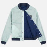 Maison Kitsune Reversible Teddy Women's Bomber Navy photo- 3